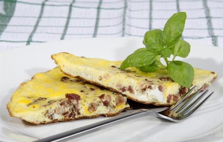 Karışık omlet tarifi malzemeler: