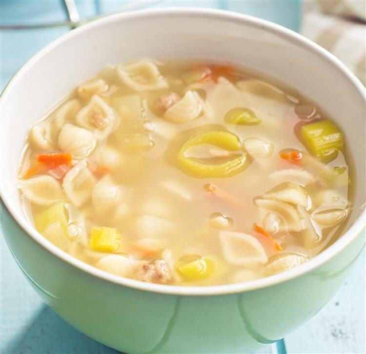Sebze çorbası yaparken dikkat
