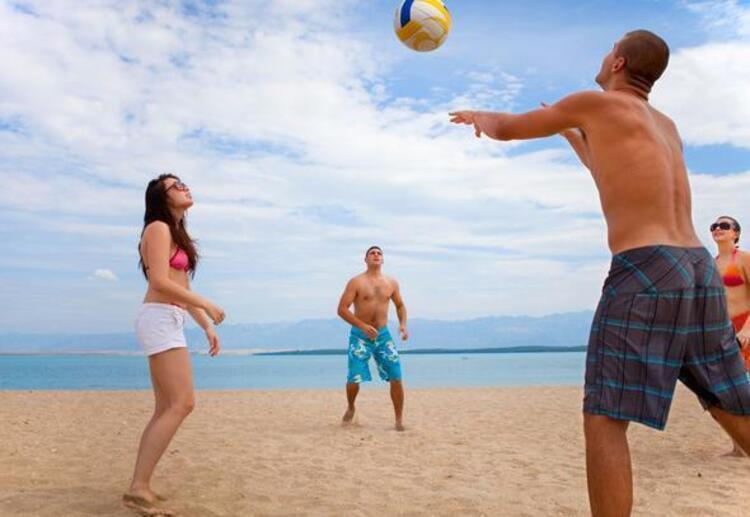 Yaz sporlarına yönelin