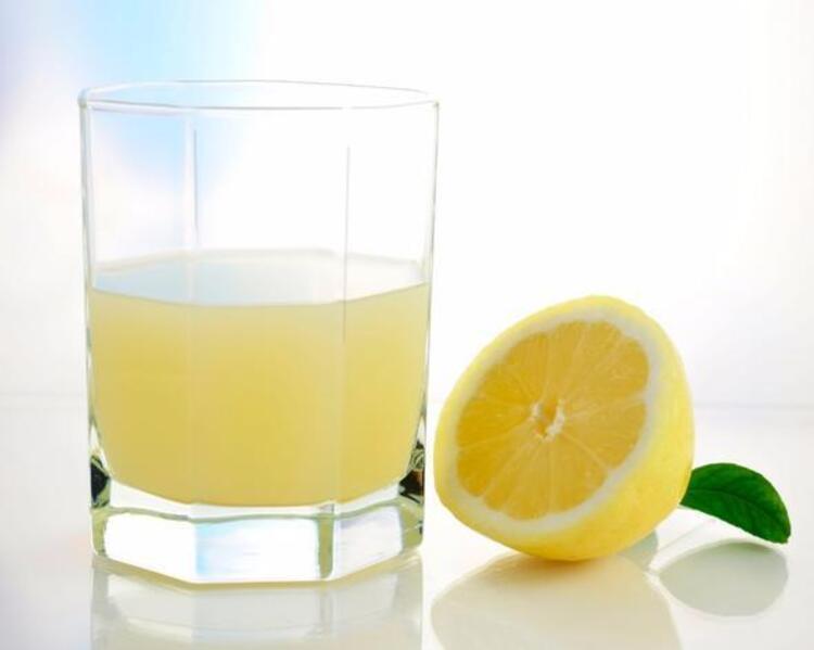 Limon suyu ekleyin