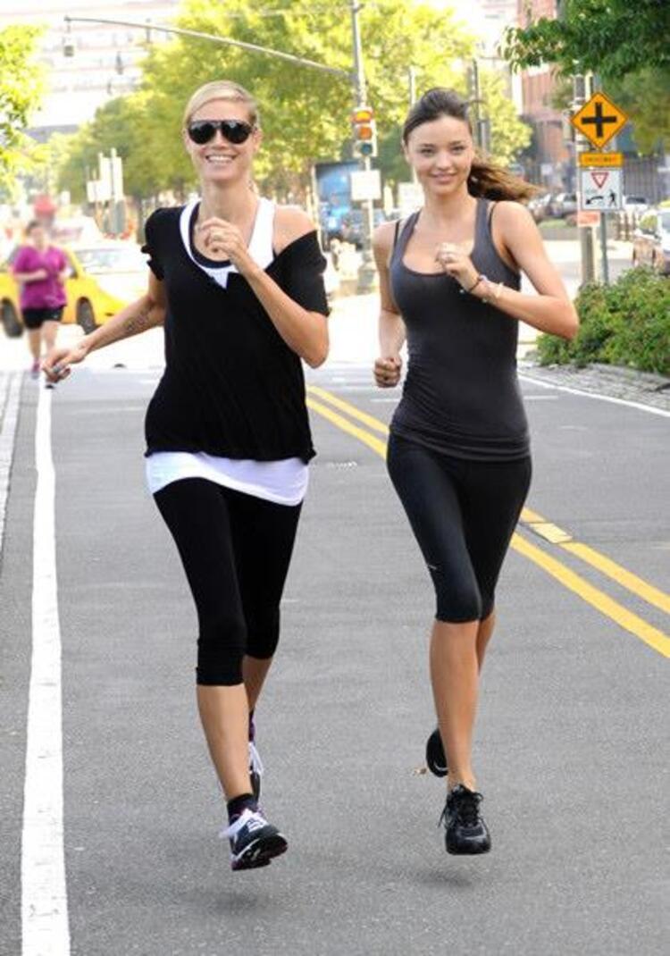 Heidi Klum & Miranda Kerr