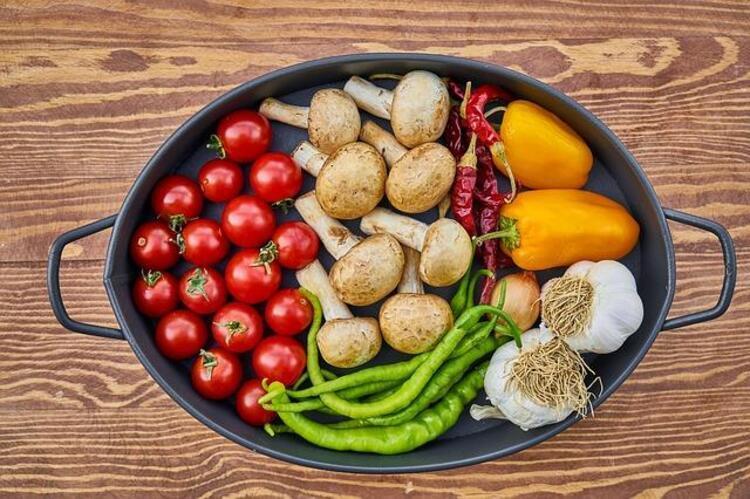 7. Mevsim sebzeleri tüketmeyi ihmal etmeyin