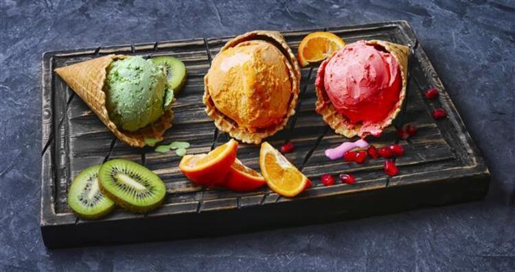 Tatlı hevesiniz için şekersiz dondurma