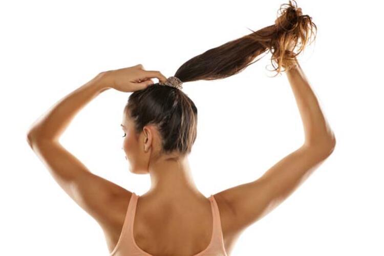 Saçınızı sıkı toplayın