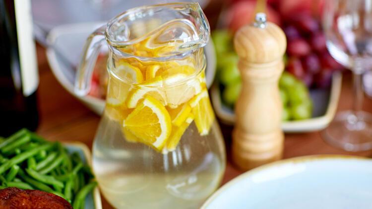 Limonlu Su İçmek İçin 8 Neden - Mahmure