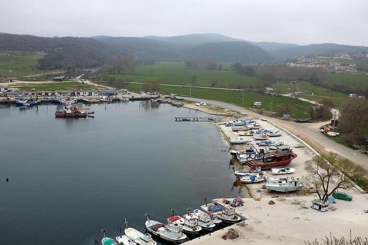 Trakya'da bir balıkçı kasabası