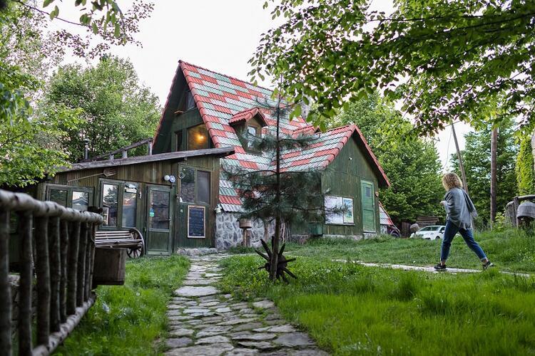 Türkiye'nin en güzel yürüyüş yolları Hindiba Doğa Evi - Bolu