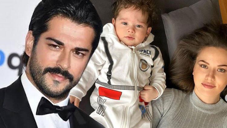 Fahriye Evcen oğlu Karan'ın yüzünü gösterdi