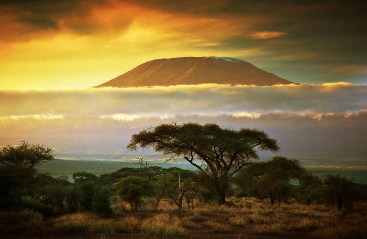 10- Kilimanjaro Dağı, Tanzanya