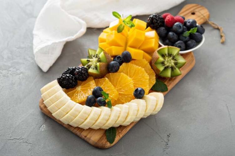 Meyveyi abartmadan tüketin