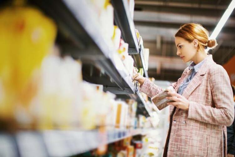 Alınan gıdaların etiketlerini kontrol edin