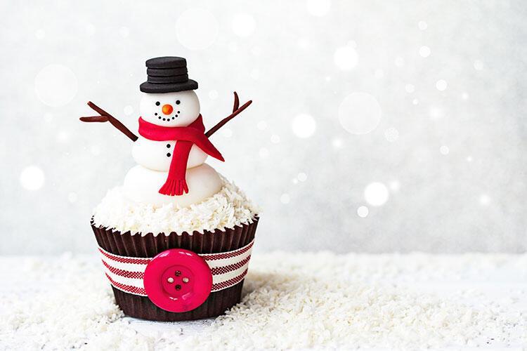 Kardan adam cupcake tarifi