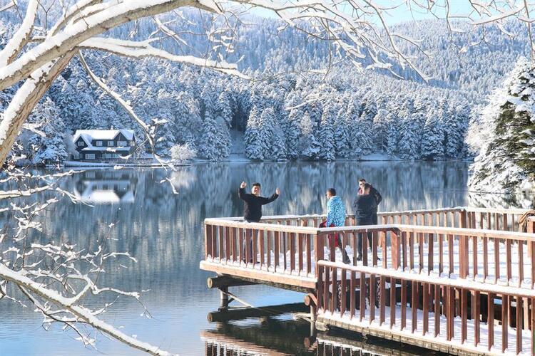 Kışın en romantik yeri