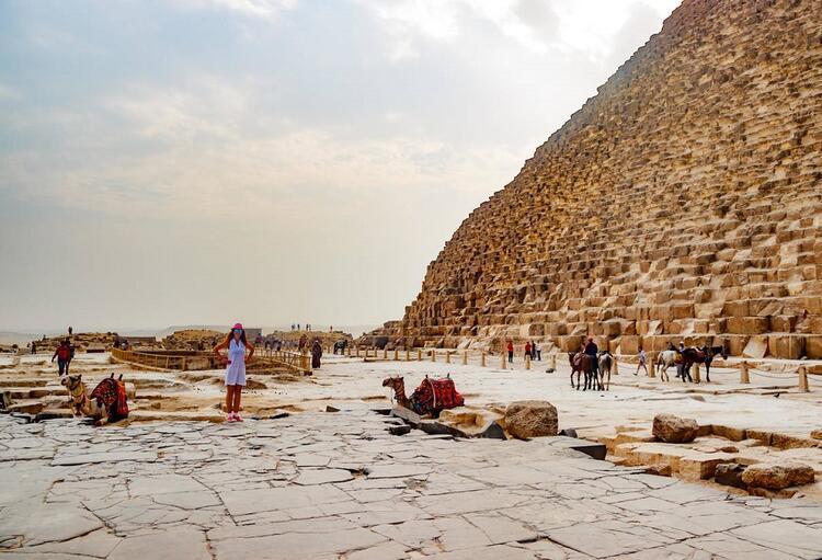 Piramitlerin nasıl yapıldığına dair ilginç bilgi
