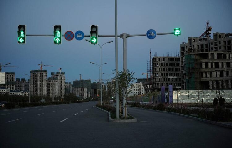 Hayalet Şehir Ordos Kangbashi / Çin