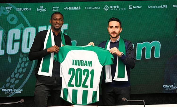 Brezilyalı forvet Rogerio Thuram, Konyaspor'da