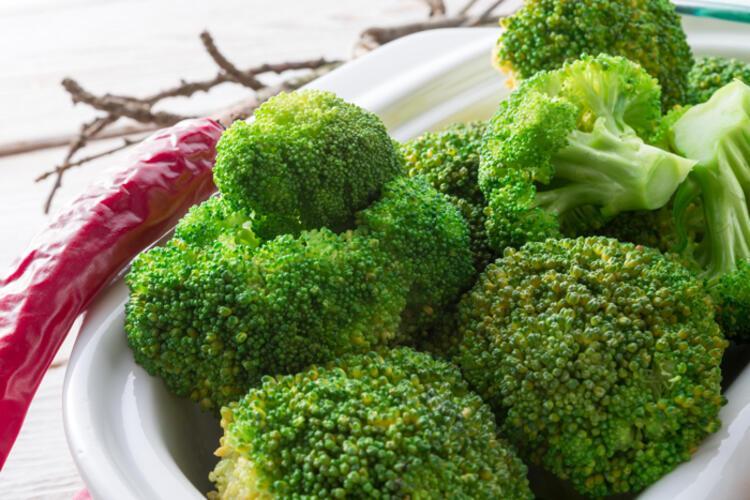 Bir sebze ne kadar koyu yeşilse bağışıklık sistemine o kadar faydalı