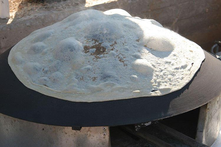 Tabun ekmeği, Ürdün