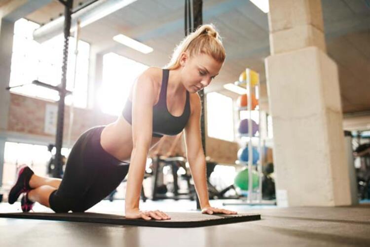 Yapabildiğiniz kadar egzersiz yapın, ancak kendinizi aşırı zorlamayın