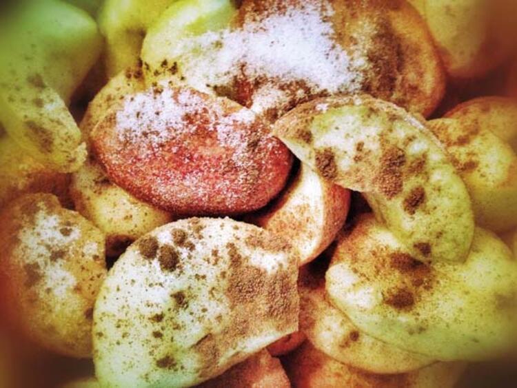 Tarçınlı elma