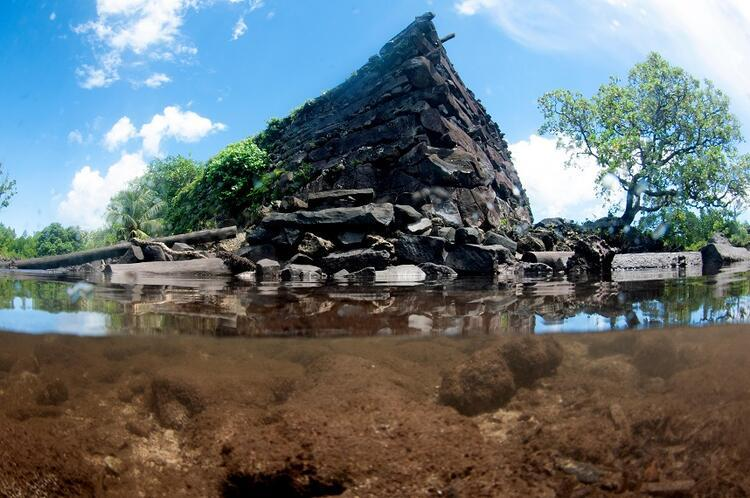 Nan Madol Kalıntıları / Mikronezya Federal Devletleri