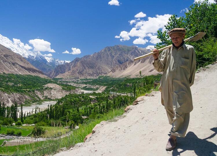 Hayali Şangri-Lanın Hunza olduğuna inanılıyor