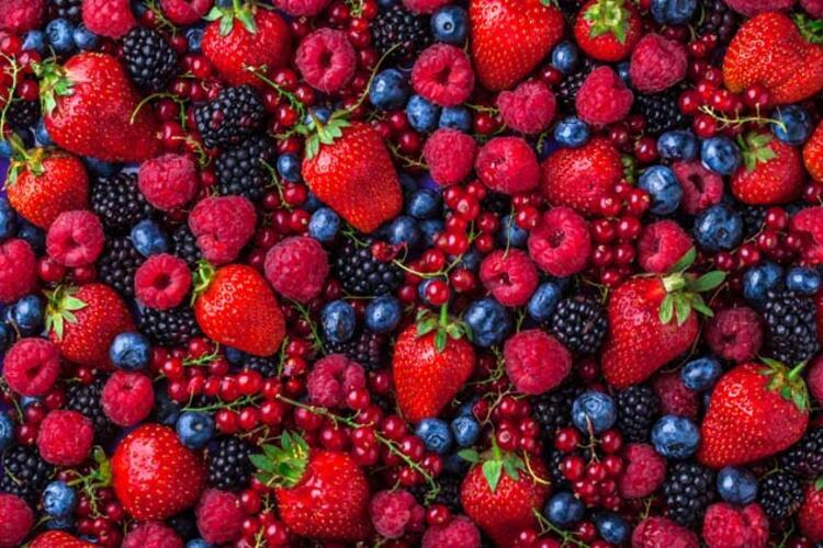Antioksidan deposu stresten koruyan kırmızı meyveler