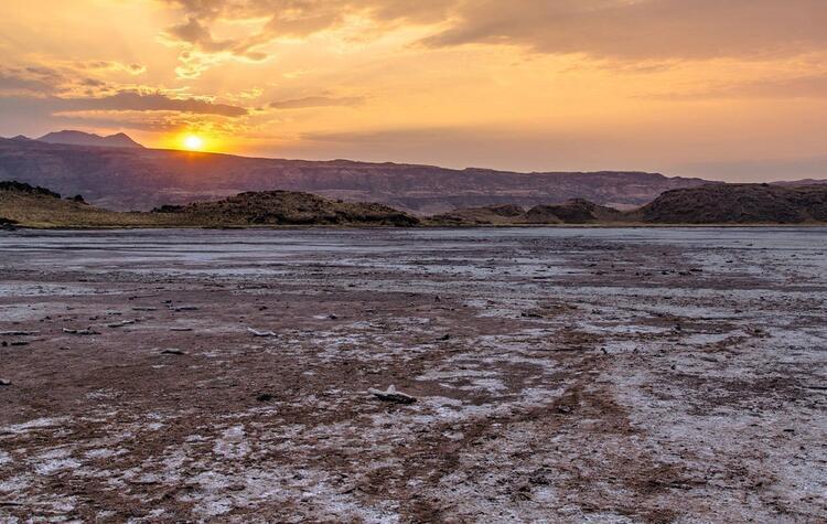 Her hayvanın taşa döndüğü göl: Natron Gölü- Taşlaşan Göl (Tanzanya)