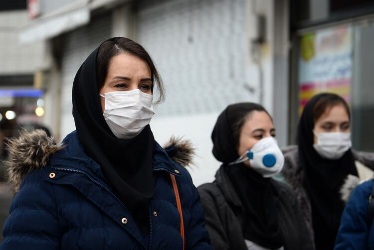 Tahranın yüzde 40ı koronavirüse yakalanabilir