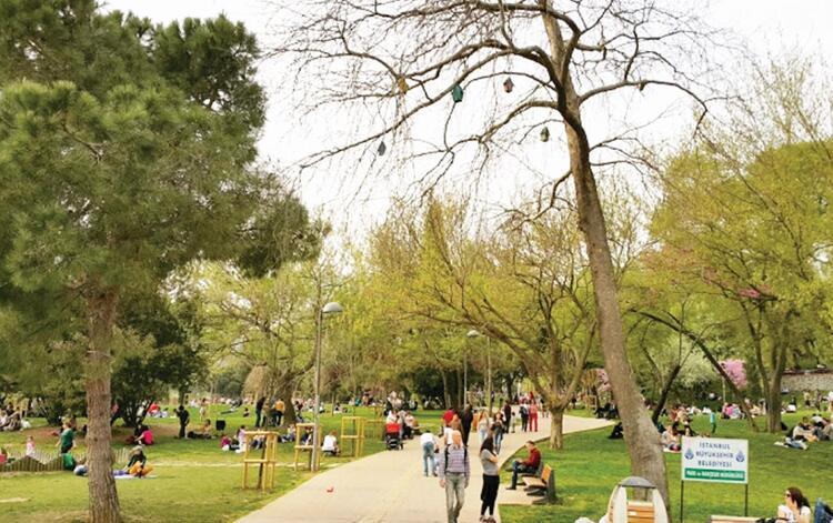 4 - Pikniğe ne dersiniz Maçka Demokrasi Parkı - İSTANBUL