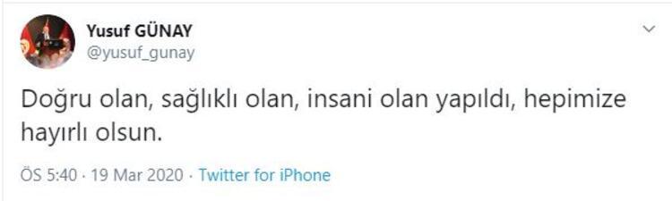 Galatasaray Başkan Yardımcısı Yusuf Günay