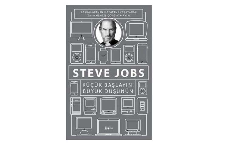 Küçük Başlayın, Büyük Düşünün: Başkalarının Hayatlarını Yaşayarak Zamanınızı Çöpe Atmayın - Steve Jobs