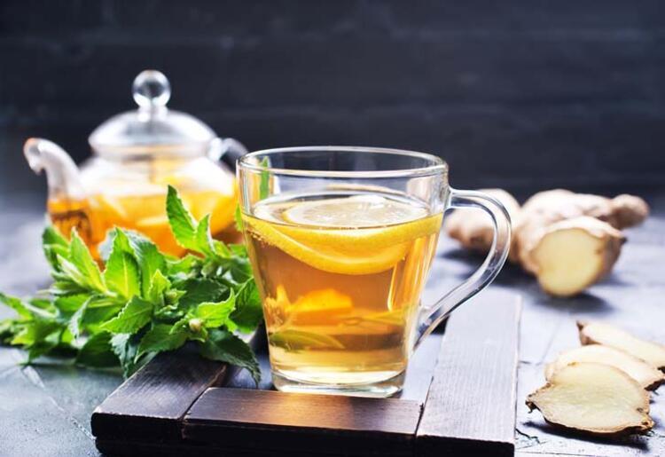 Boğaz dezenfektanı çay