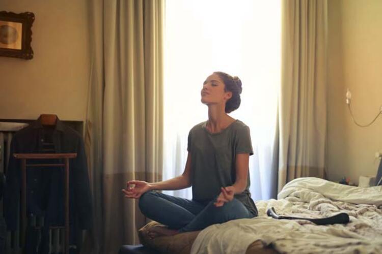 Meditasyon ve nefes egzersizleri deneyebilirsiniz