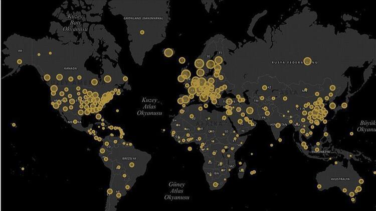 Cumhurbaşkanlığı Dijital Dönüşüm Ofisinden koronavirüs sitesi