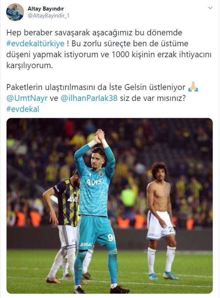 ALTAY BAYINDIR BAŞLATTI 1000 AİLE