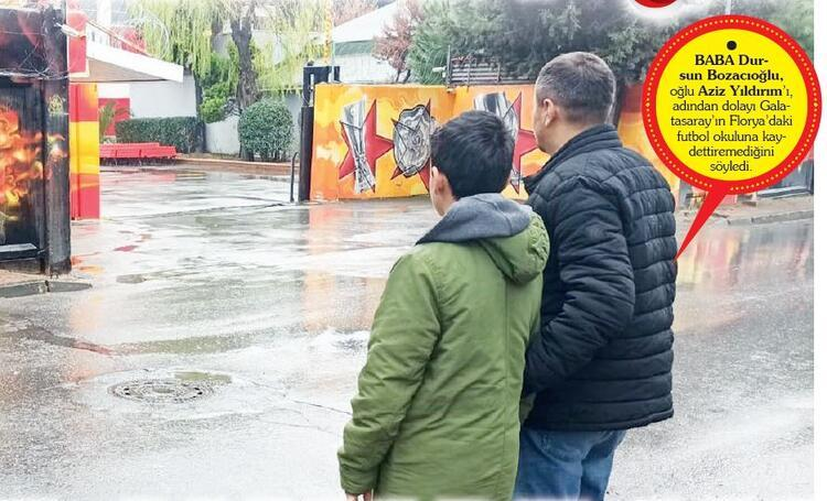 Galatasaray tesislerine giremeyince uzaktaki Fenerbahçe okuluna gittik