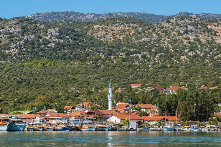 Üçağız Köyü