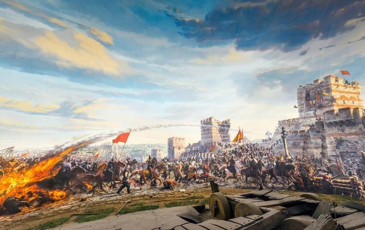 Türkiye'nin ilk panoramik müzesi: Panorama 1453 Tarih Müzesi / İstanbul