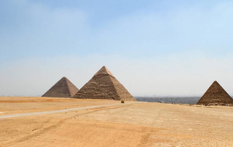 Keops Piramidi, Kahire / Mısır
