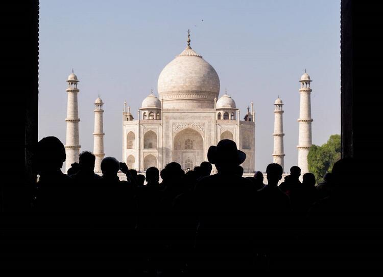 Tac Mahal / Hindistan