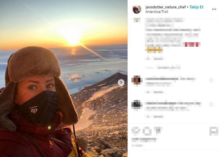 Karin Jansdotter, böyle bir zamanda Antarktika'da olmanın nasıl bir duygu olduğunu Dailymail anlattı