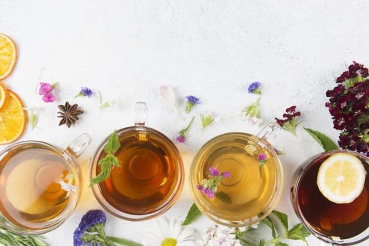 Bitki çaylarınının metabolizmayı hızlandırdığını unutmayın