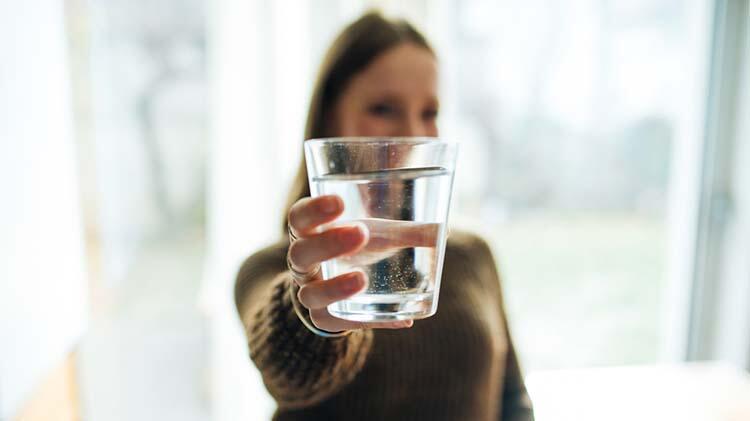 Vücut kilonuz başına 30ml su için