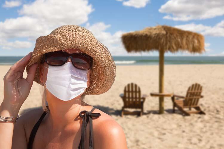 Havuz ve denizler koronavirüste risk taşımıyor