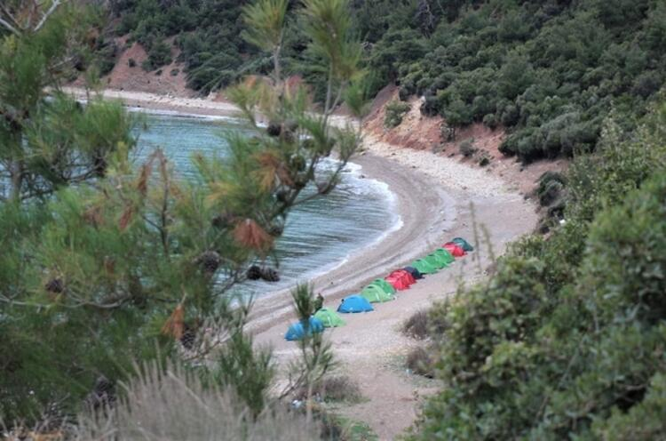 Bir yanı deniz bir yanı orman: Danişment Orman Kampı - Keşan