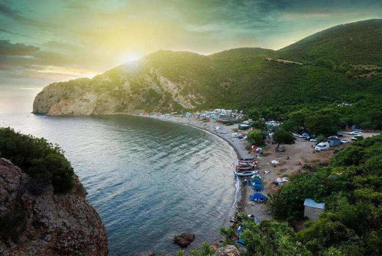 Küçücük bir koy: Saros Körfezi Kömür Limanı / Çanakkale