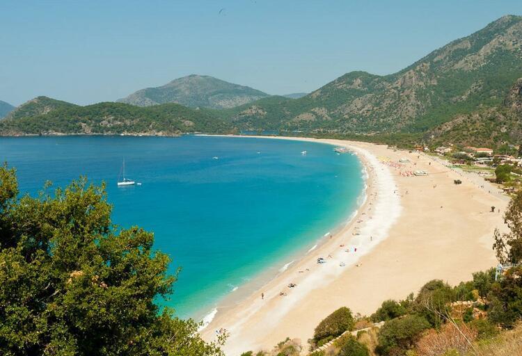 Denizi harika: Ölüdeniz, Fethiye / Muğla
