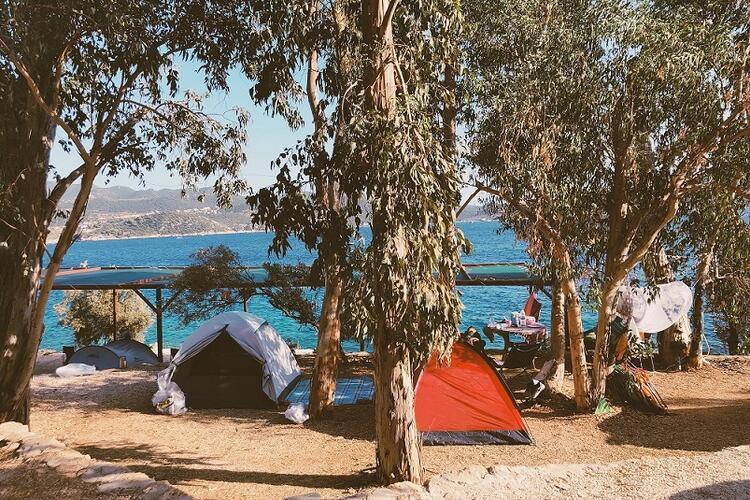 Amatörler için biçilmiş kaftan: Kaş Camping / Antalya