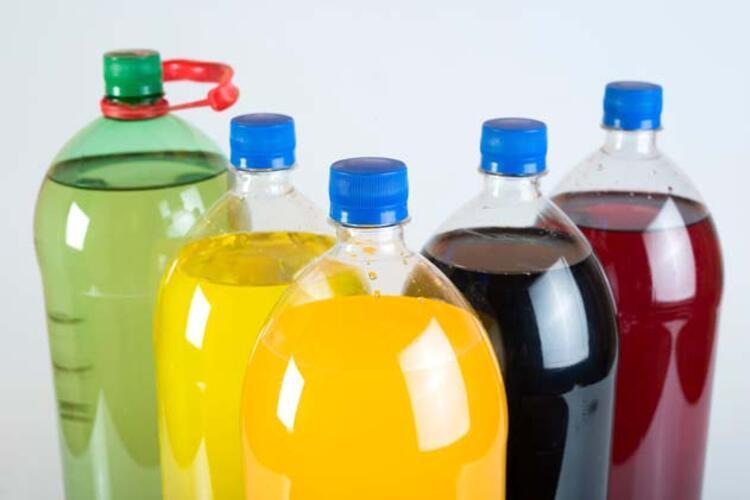 11- Gazlı içecekler: